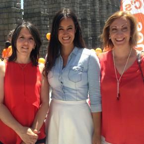 Begoña Villacís apoya a María Cuesta en la recta final al 26J