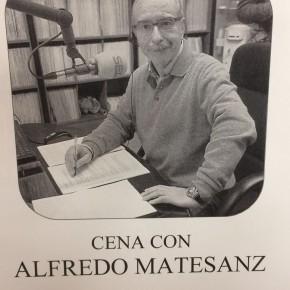 Cena de despedida a Alfredo Matesanz
