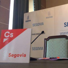 Ciudadanos registra una moción en el Ayuntamiento de Segovia en apoyo a los ciudadanos de Cataluña y al Estado de Derecho.