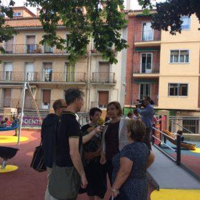 Ciudadanos celebra la apertura de la nueva zona de juego adaptada y accesible de los Jardinillos de San Roque
