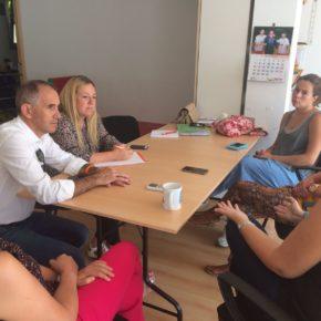 Cs apoya la creación de un aula TEA en el colegio de El Espinar.
