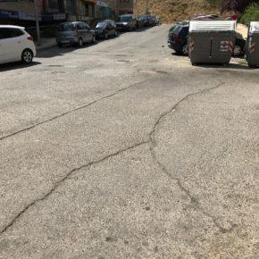 """Ciudadanos reclama el arreglo de la Calle Los Almendros ante el """"evidente"""" abandono por parte del Ayuntamiento y Junta de Castilla y León"""