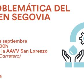 Cs celebra la I Jornada sobre la Problemática del Agua en Segovia.