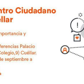 Cs aborda las necesidades del cruce de la Carretera de Peñafiel en Cuéllar