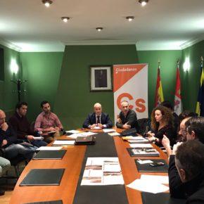 Ciudadanos ha presentado alegaciones al PRUG en una Mesa de Trabajo en La Granja.