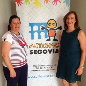 Autismo Segovia inauguró un piso cedido por el Ayuntamiento